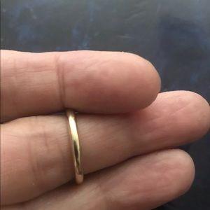 14k YG Women's Wedding Band 2.5mm